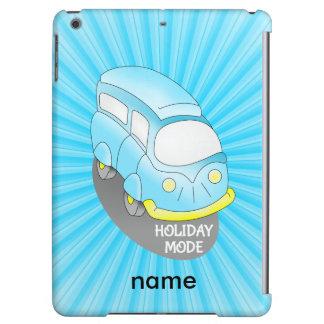 Holiday Mode Blue Van