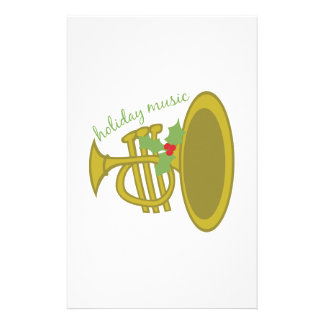 Holiday Music Stationery Paper