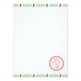 Holiday North Pole Stationery 17 Cm X 22 Cm Invitation Card