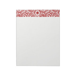 Holiday Notepad-Snowflakes Notepad