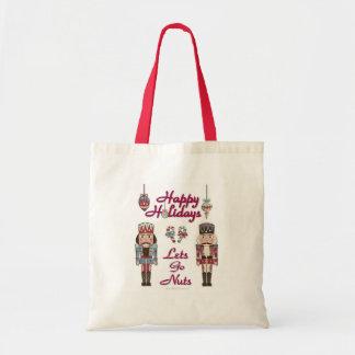 Holiday Nutcracker Lets Go Nuts Tote Bag