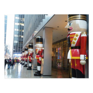 Holiday Nutcrackers NYC Postcard