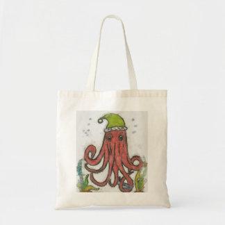Holidayoctopus Canvas Bag