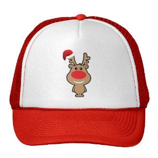 Holiday of funny Christmas santa Mesh Hat
