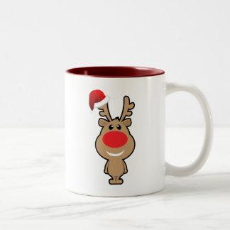 Holiday of funny Christmas santa Coffee Mug