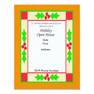 Holiday Open House Invitation Card