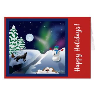 Holiday or Christmas card