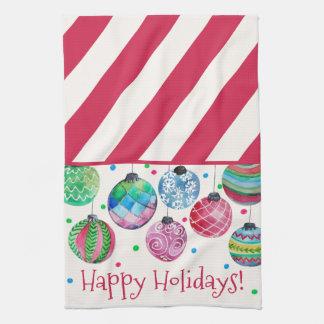 Holiday Ornament Christmas Tea Towel