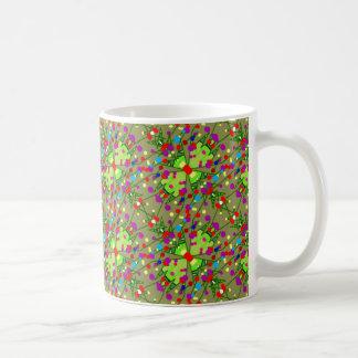 Holiday Ornament Design on Coffee Mugs