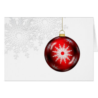 Holiday Ornament Greeting Card
