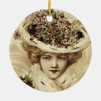 Holiday Ornament-Victorian Woman