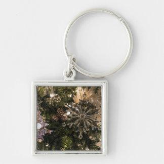 Holiday Ornaments Key Ring