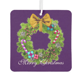 Holiday Painted Christmas Wreath