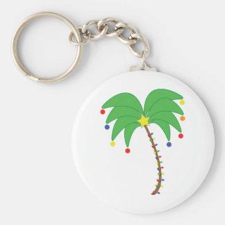 Holiday Palm Tree keychain