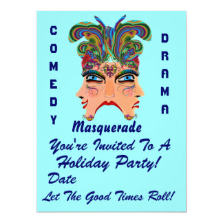"""Holiday Party 6.5"""" x 8.75""""  Please View Note Large Invitation"""