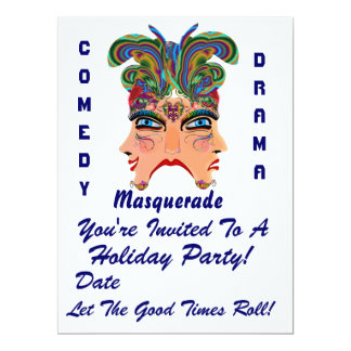 """Holiday Party 6.5"""" x 8.75""""  Please View Note Large Personalized Invites"""
