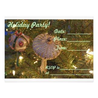 Holiday Party Christmas New Year Invitation