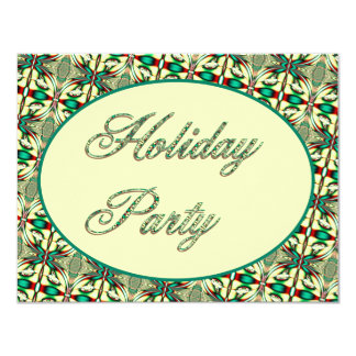Holiday Party 4.25x5.5 Paper Invitation Card