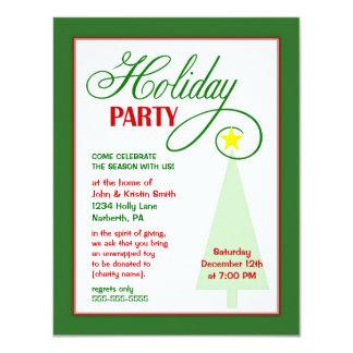 Holiday Party Invitation - Custom Cause