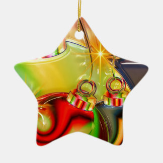 Holiday Party Winter Stocking Destiny Gifts Ceramic Star Decoration