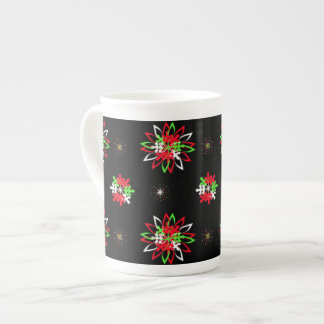 Holiday Pattern Brights specialty mug