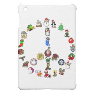 Holiday Peace iPad Mini Cases