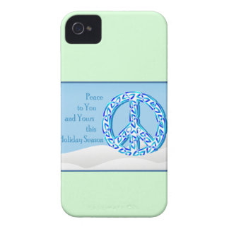 Holiday Peace iPhone 4 Cases