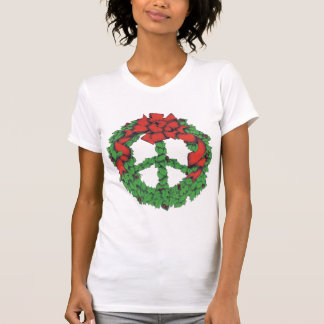 Holiday Peace Wreath T-Shirt