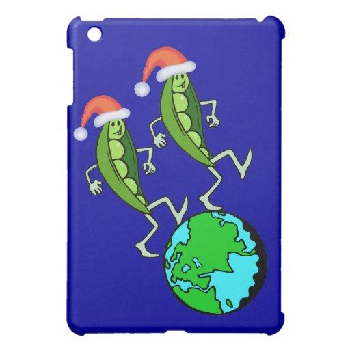 Holiday Peas on Earth Case For The iPad Mini