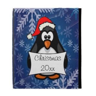 Holiday Penguin iPad Folio Case