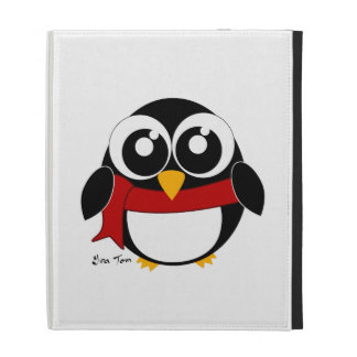 Holiday Penguin iPad Folio Cover