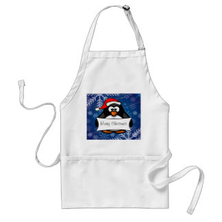 Holiday Penguin Standard Apron