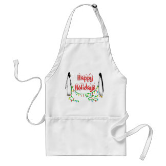 Holiday Penguins Aprons