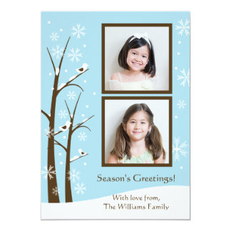 Holiday Photo Card 13 Cm X 18 Cm Invitation Card