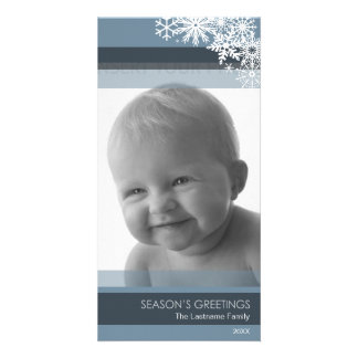 Holiday Photo Card: Let It Snow! Customized Photo Card