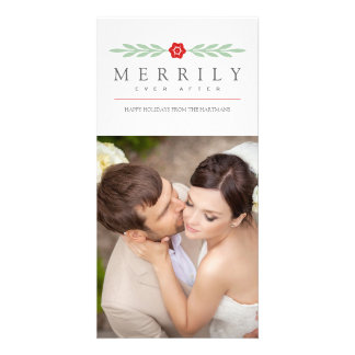 Holiday Photo Card | Merrily