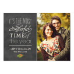 Holiday Photo Cards | The Most Wonderful Time Personalized Announcements