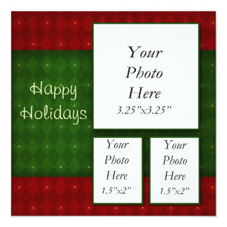 Holiday Photo Greeting Card 13 Cm X 13 Cm Square Invitation Card