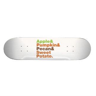 Holiday Pies ~ Festive Xmas Thanksgiving Christmas Skate Decks
