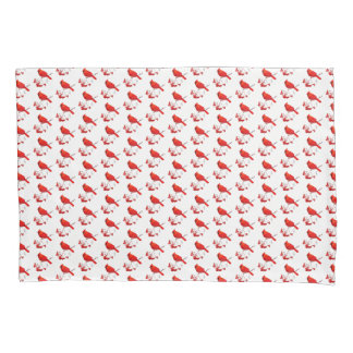 Holiday Pillow Case-Red Cardinal Pillowcase