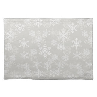 Holiday Placemat-Snowflakes Placemat