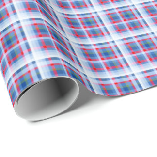 Holiday Plaid by Redux 121 Design Studio Wrapping Paper