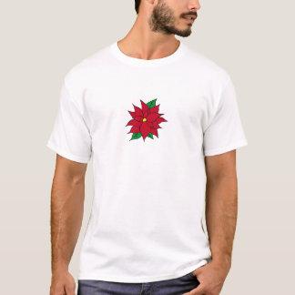 HOLIDAY POINSETTIA / FLOWER, CHRISTMAS T-Shirt