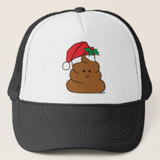 Holiday Poo Trucker Hat