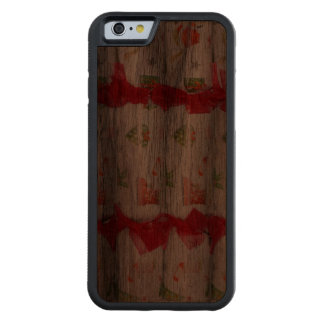 Holiday Poppers Walnut iPhone 6 Bumper Case