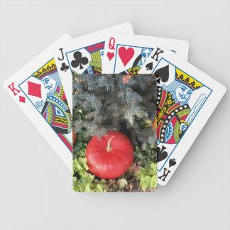 Holiday Pumpkins Poker Deck