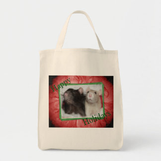 Holiday Rattie Shopping Bag