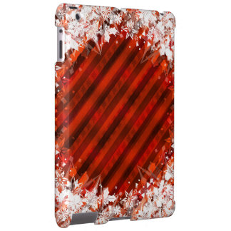 Holiday Red with White Snowflake - Custom Case
