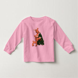 Holiday Reindeer Sweatshirt Kids