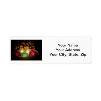 Holiday Return Address Lables Return Address Label